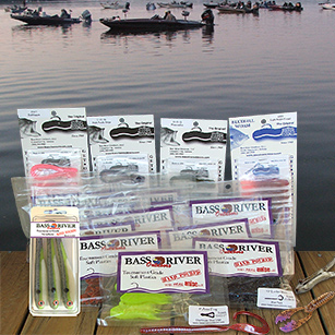 The Original Anise Worm and Tournament Grade Soft Plastic baits from Bass River Outdoors